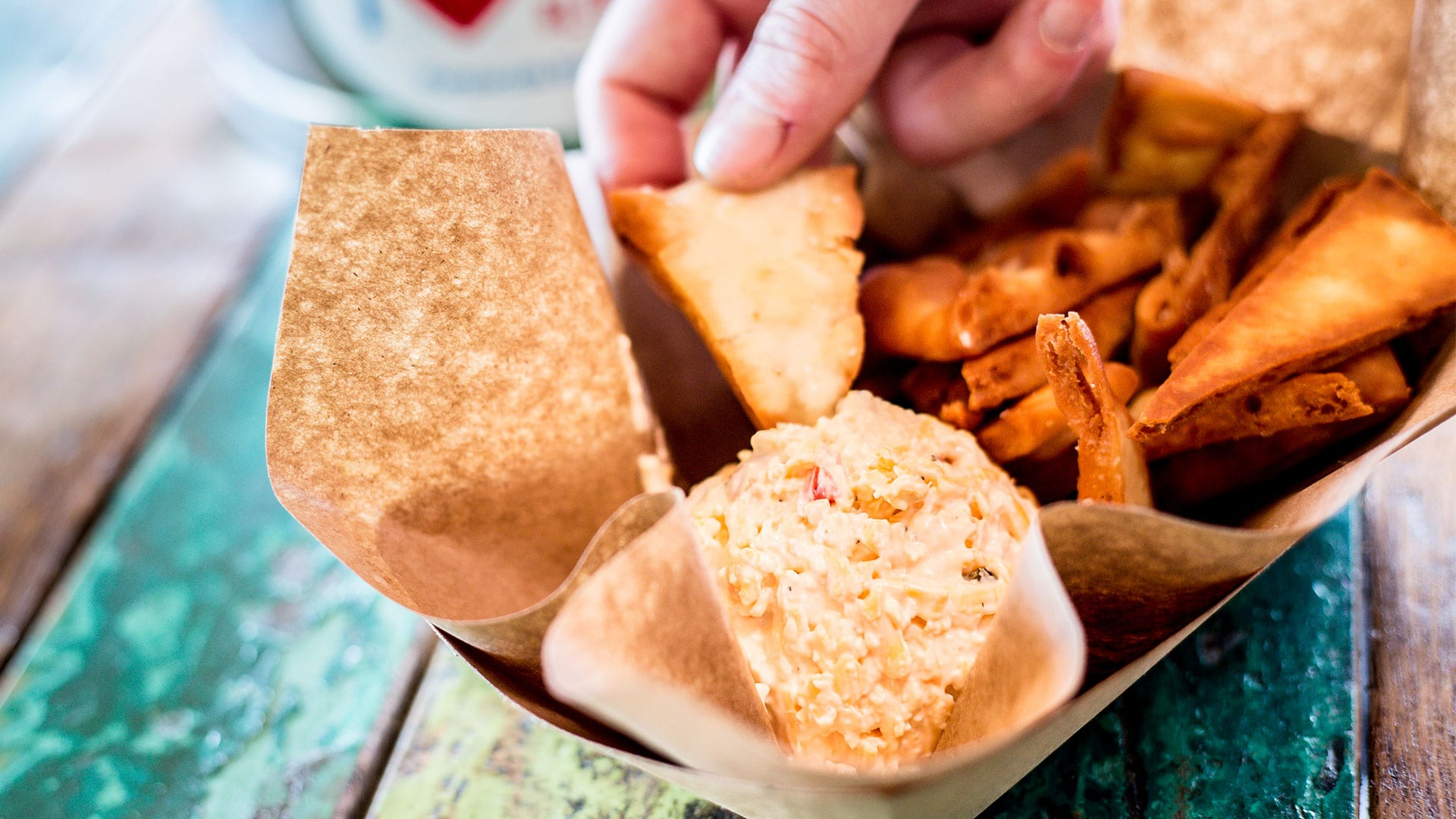 Small Bites | Pimento Cheese Dip | Red Fish Blue Fish Pensacola Beach