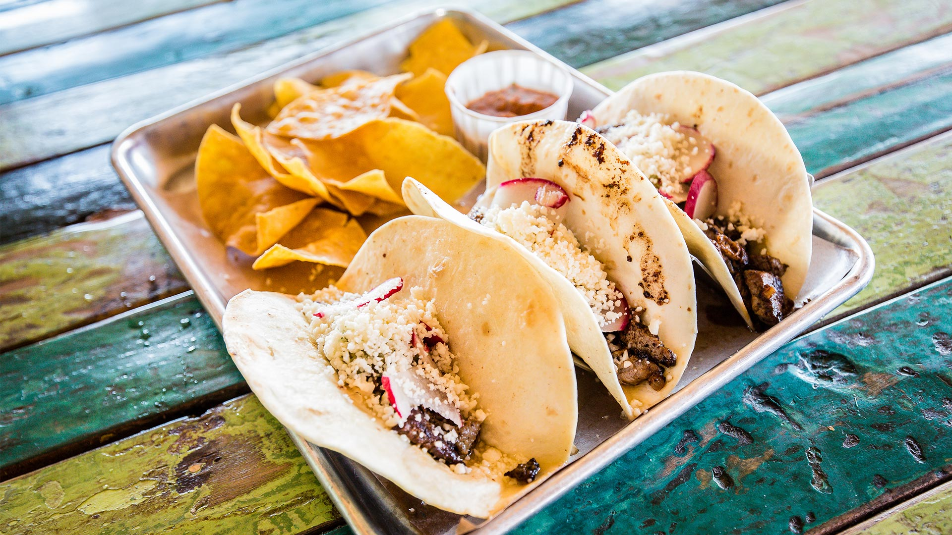 Taco Time | Steak Tacos | Red Fish Blue Fish Pensacola Beach