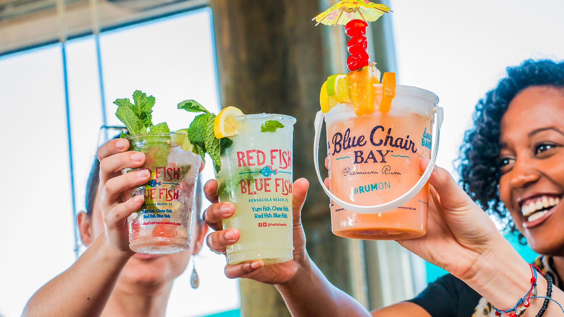 Sunset Sips | Menu | Red Fish Blue Fish Pensacola Beach FL