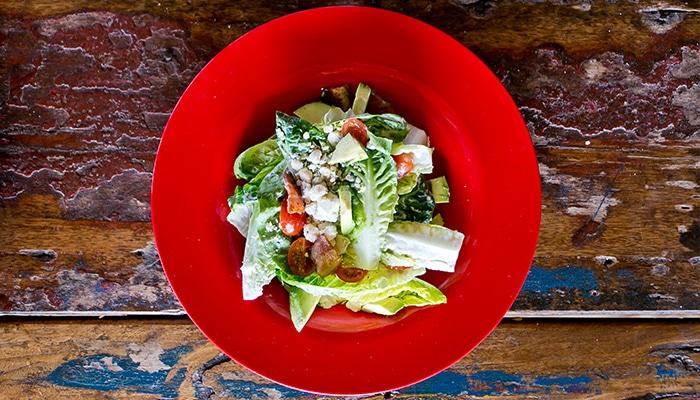 Backyard Greens | Sweet Gem Salad | Red Fish Blue Fish Pensacola Beach Featured Image