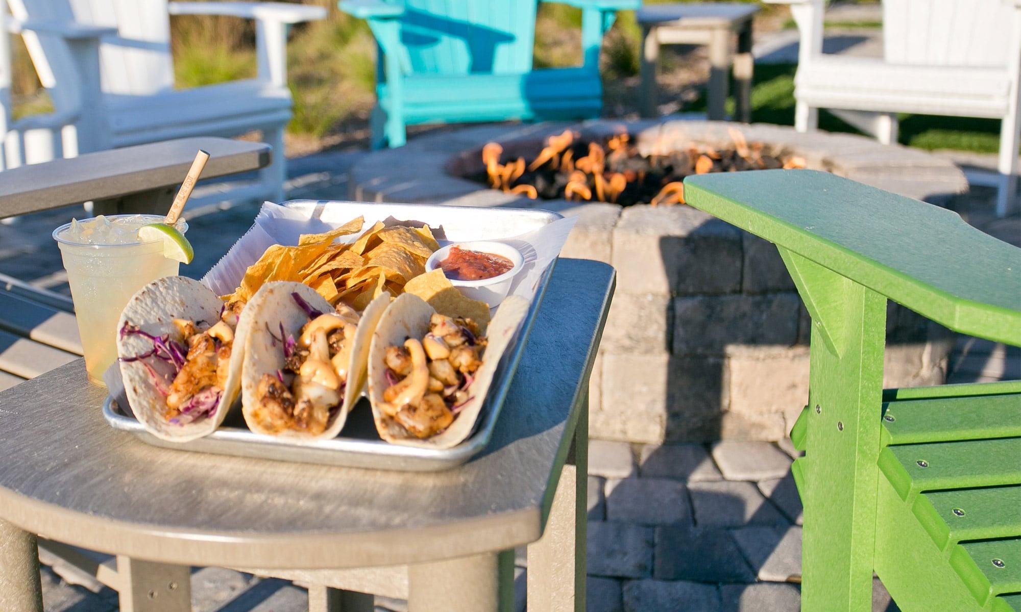Tacos Red Fish Blue Fish Pensacola Beach