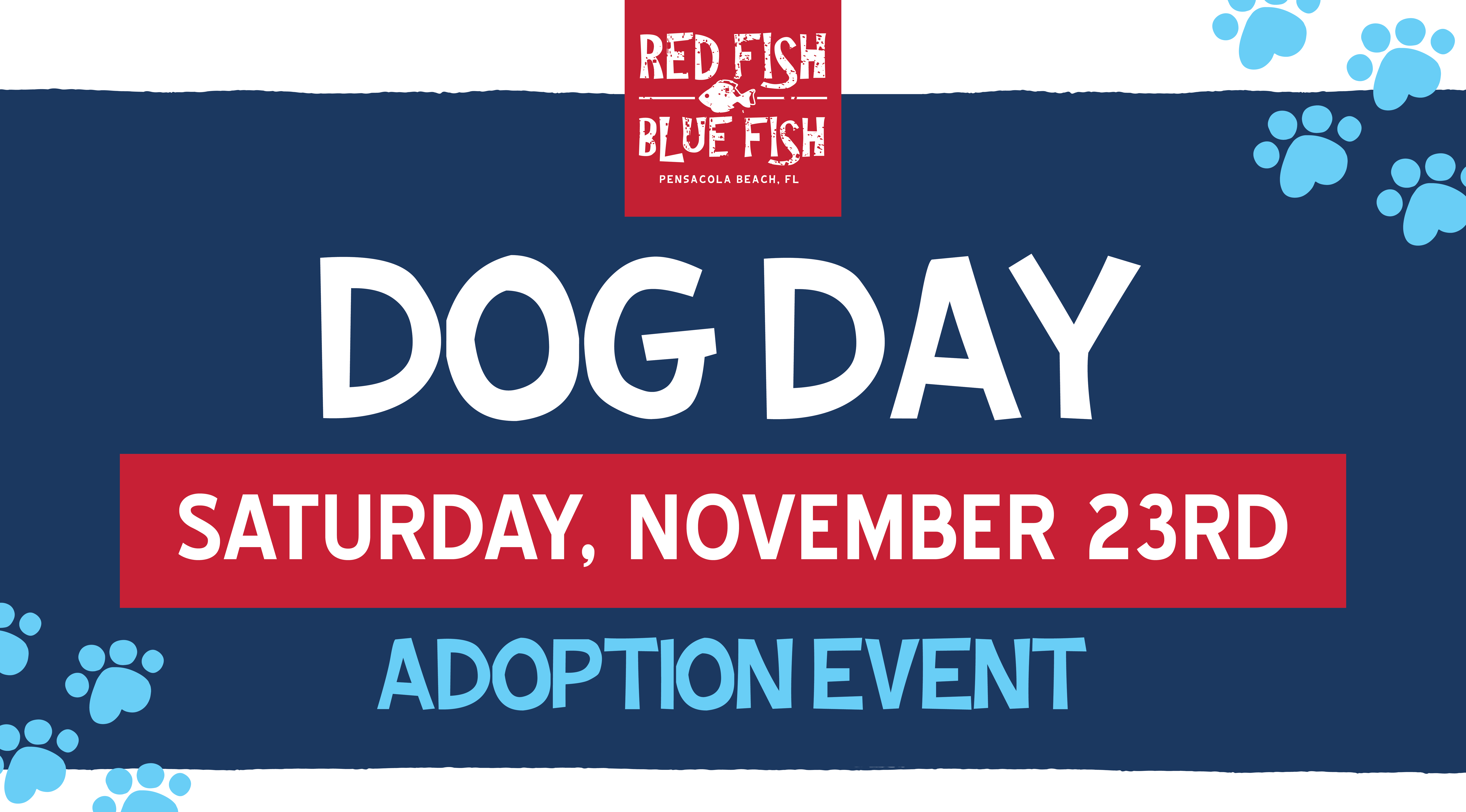 Dog Day Red Fish Blue Fish